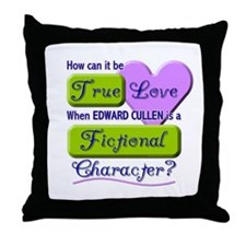 Edward Cullen True Love Throw Pillow
