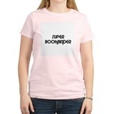 SUPER BOOKBINDER  Women's Pink T-Shirt