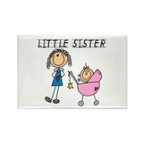 Little Sister Rectangle Magnet (100 pack)
