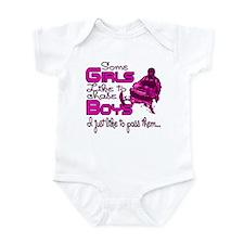 Some Girls...Snowmobile Infant Bodysuit