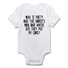 Infant Bodysuit Patty Cake