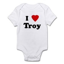 I Love Troy Infant Bodysuit