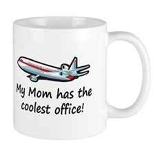 Mom's Cool Airplane Mug