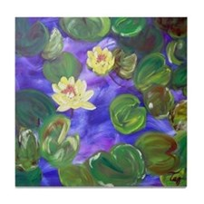 Waterlilies Tile Coaster
