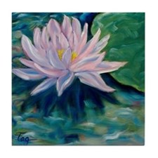 Waterlily Tile Coaster