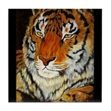 Tiger Face Tile Coaster