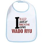 Bleed Sweat Breathe Wado Ryu Bib