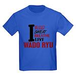 Bleed Sweat Breathe Wado Ryu Kids Dark T-Shirt