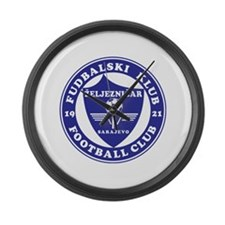 FK Zeljeznicar Large Wall Clock