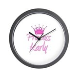 Princess Karly Wall Clock