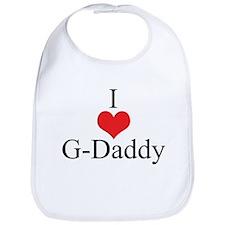 I love (Heart) G-Daddy Bib