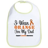 I Wear Orange For My Dad Bib