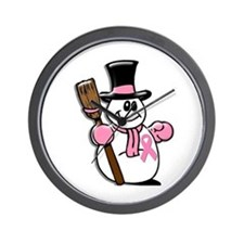 Holiday Snowman 1.1 Wall Clock