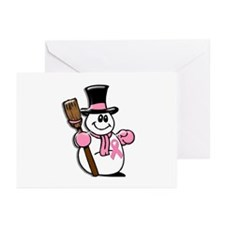 Holiday Snowman 1.1 Greeting Cards (Pk of 10)