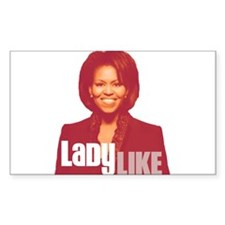 Obama Graffiti Rectangle Sticker 10 pk)