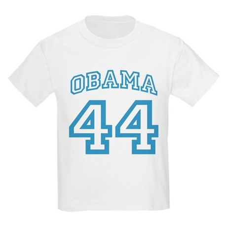 OBAMA 44 Two Sided Kids Light T-Shirt