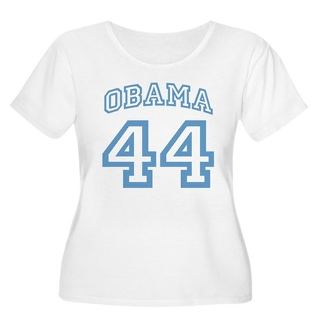 OBAMA 44 Women's Plus Size Scoop Neck T-Shirt