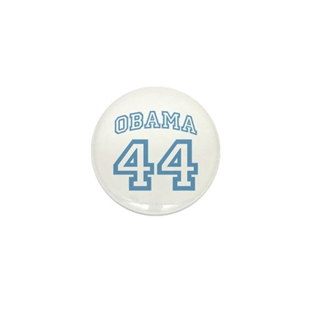 OBAMA 44 Mini Button (10 pack)