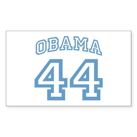 OBAMA 44 Rectangle Sticker