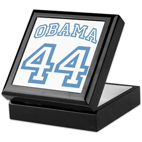 OBAMA 44 Keepsake Box