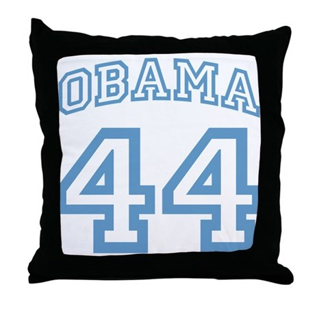 OBAMA 44 Throw Pillow