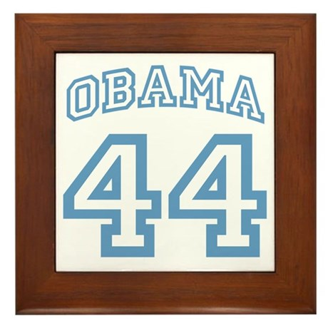 OBAMA 44 Framed Tile