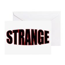 """""""STRANGE"""" Greeting Cards (Pk of 10)"""