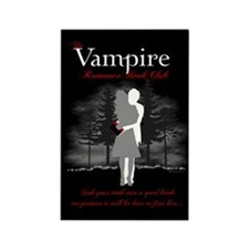 Vampire Romance Book Club Rectangle Magnet