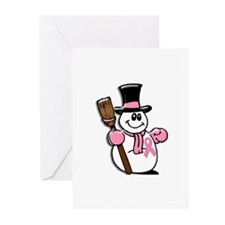 Holiday Snowman 1.1 Greeting Cards (Pk of 20)