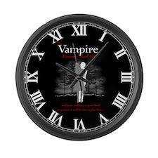 Vampire Romance Book Club Large Wall Clock