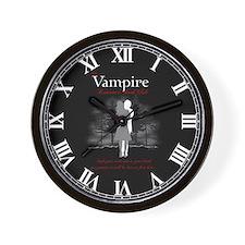 Vampire Romance Book Club Wall Clock