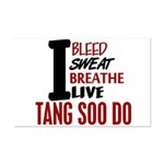 Bleed Sweat Breathe Tang Soo Do Mini Poster Print