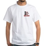 Bleed Sweat Breathe Tang Soo Do White T-Shirt