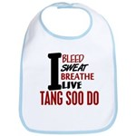 Bleed Sweat Breathe Tang Soo Do Bib