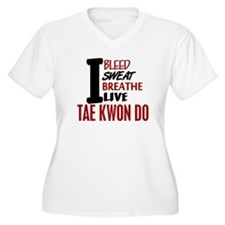 Bleed Sweat Breathe Tae Kwon Do T-Shirt