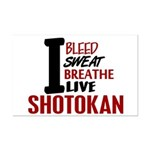 Bleed Sweat Breathe Shotokan Mini Poster Print