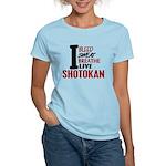 Bleed Sweat Breathe Shotokan Women's Light T-Shirt
