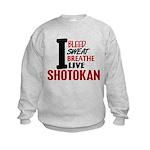 Bleed Sweat Breathe Shotokan Kids Sweatshirt