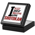 Bleed Sweat Breathe Shotokan Keepsake Box