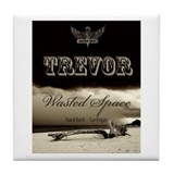 Cute Trevor Tile Coaster