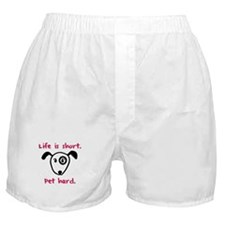 Pet Hard (Dog) Boxer Shorts