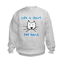 Pet Hard (Cat) Sweatshirt