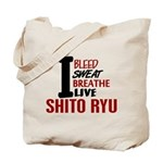 Bleed Sweat Breathe Shito Ryu Tote Bag