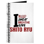 Bleed Sweat Breathe Shito Ryu Journal