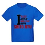 Bleed Sweat Breathe Shito Ryu Kids Dark T-Shirt