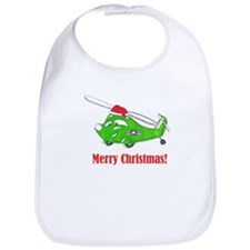 Cute Military helicopter Bib
