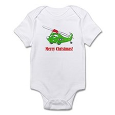 Cute Military helicopter Infant Bodysuit