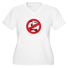 New Section Women's Plus Size V-Neck T-Shirt