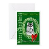 Siberian Christmas Greeting Cards (Pk of 10)