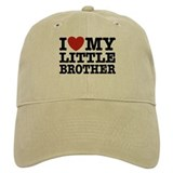 I Love My Little Brother Baseball Cap